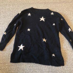 J. Crew star sweater